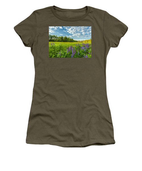 Women's T-Shirt (Junior Cut) featuring the photograph Summer Dream by Rose-Maries Pictures