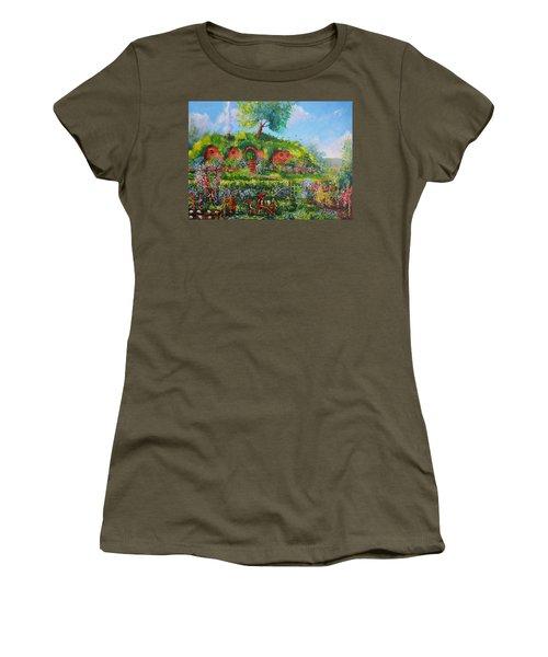 Summer In The Shire Women's T-Shirt (Junior Cut) by Joe  Gilronan