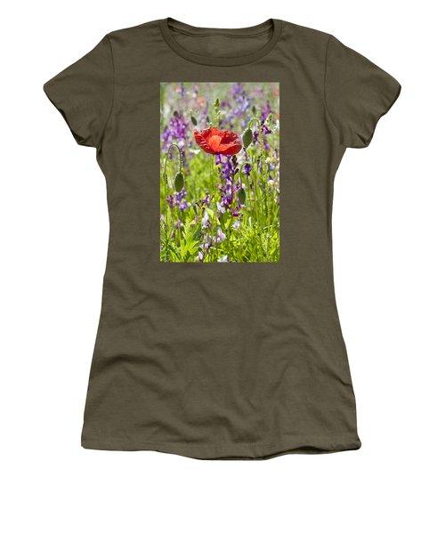 Summer Women's T-Shirt (Junior Cut) by Lana Enderle