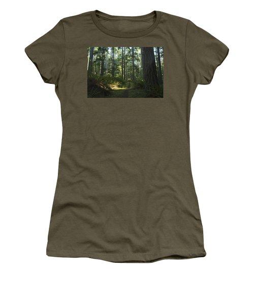 Summer Pacific Northwest Forest Women's T-Shirt