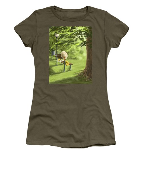 Summer Paradise Women's T-Shirt (Athletic Fit)