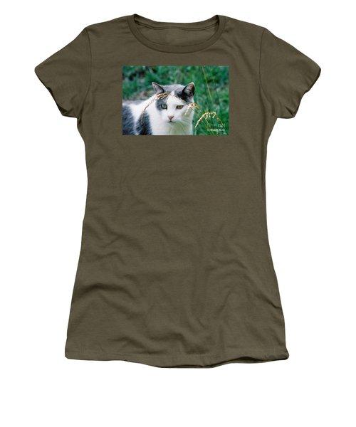 Women's T-Shirt (Junior Cut) featuring the photograph Summer Stroll by Donna Brown