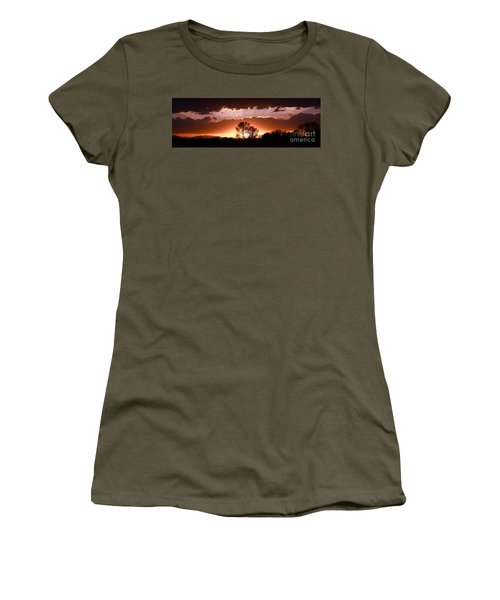 Summer Sunset Women's T-Shirt (Junior Cut) by Steven Reed