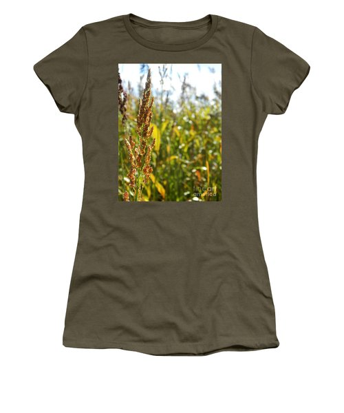 Sun Of Life Women's T-Shirt (Junior Cut) by Andrea Anderegg
