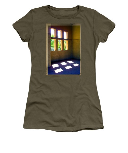 Sun Thru Windows Adobe Architecture Women's T-Shirt