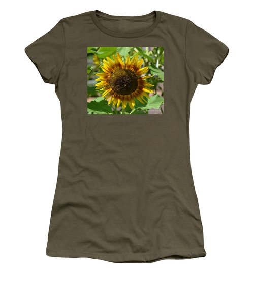 Sunflower Glory Women's T-Shirt (Athletic Fit)
