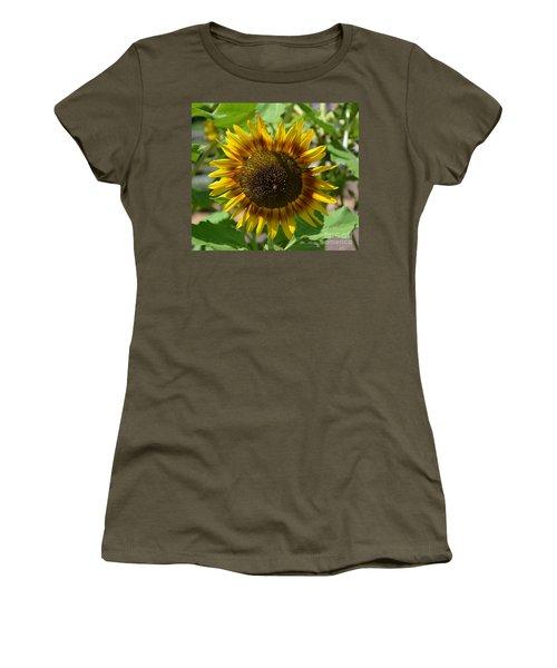 Sunflower Glory Women's T-Shirt (Junior Cut) by Luther Fine Art