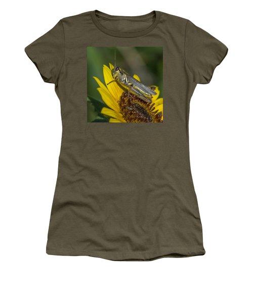 Sunflower Love Women's T-Shirt (Athletic Fit)