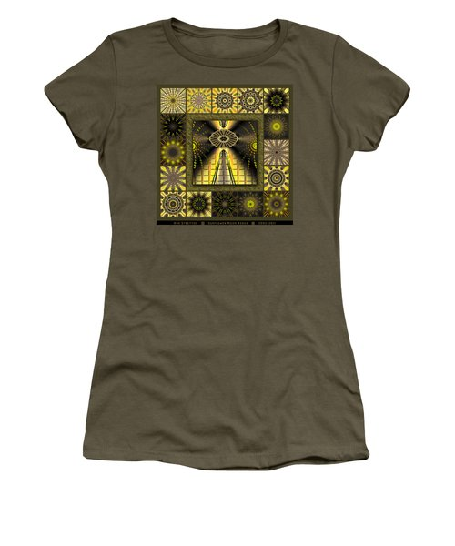 Sunflower Moon Redux Women's T-Shirt