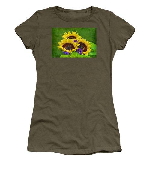 Sunflower Trio Women's T-Shirt