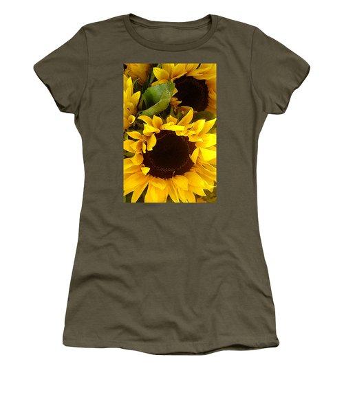 Sunflowers Tall Women's T-Shirt