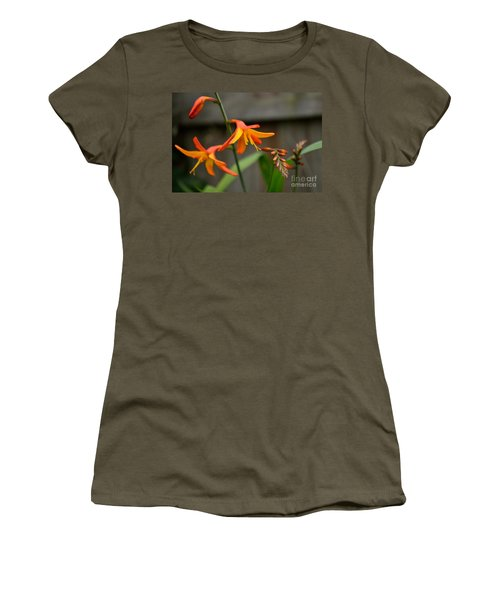 Sunny Crocosmia Women's T-Shirt