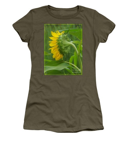 Sunny Profile Women's T-Shirt (Junior Cut) by Sara  Raber