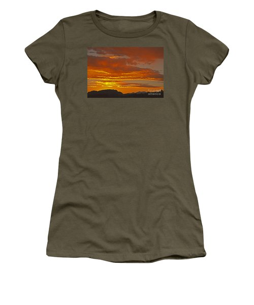 Sunrise Capitol Reef National Park Women's T-Shirt