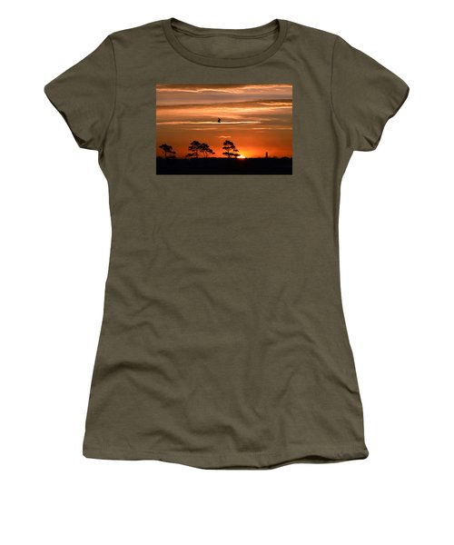 Sunrise Over Fenwick Island Women's T-Shirt (Athletic Fit)