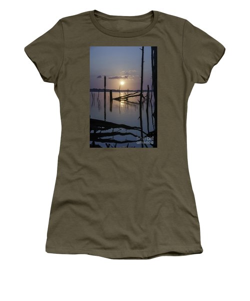 Sunrise Over Manasquan Reservoir Women's T-Shirt