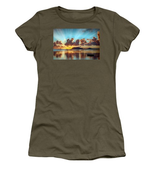 Sunrise Over Marine Corps Base Hawaii Women's T-Shirt