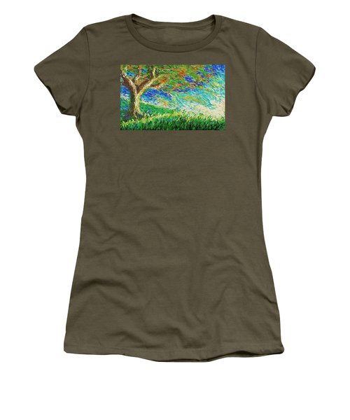The War Of Wind And Sun Women's T-Shirt