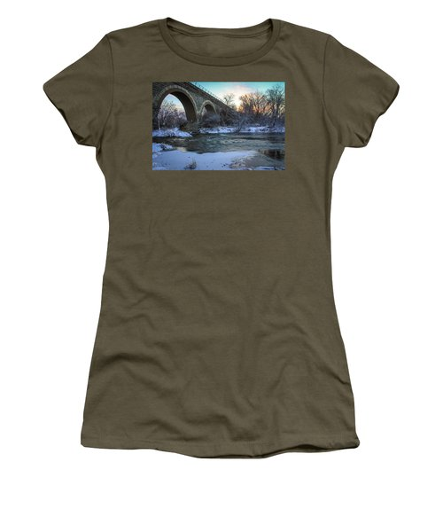 Sunrise Under The Bridge Women's T-Shirt
