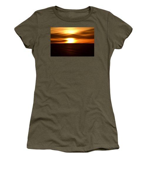 Sunset Abstract II Women's T-Shirt