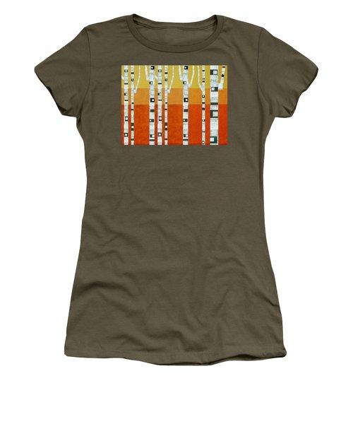 Sunset Birches Women's T-Shirt