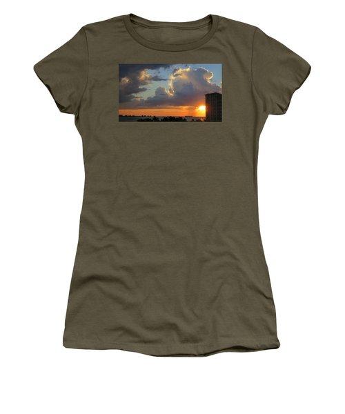 Sunset Shower Sarasota Women's T-Shirt