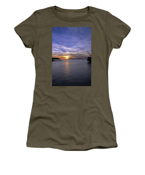 Sunset In Adriatic Women's T-Shirt