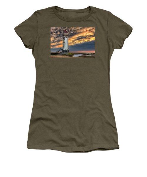 Sunset Lighthouse Women's T-Shirt