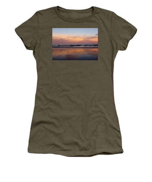 Sunset Over Long Sands Beach II Women's T-Shirt (Athletic Fit)