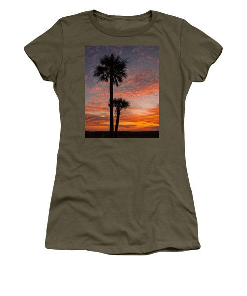 Sunset Over Marsh Women's T-Shirt