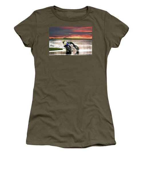 Sunset Rossi Women's T-Shirt (Athletic Fit)