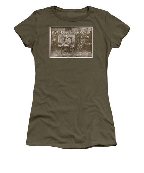 Surrender Of General Lee Women's T-Shirt