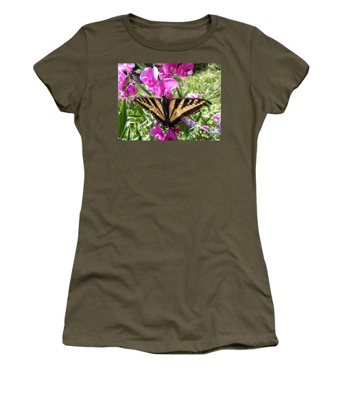 Swallowtail Women's T-Shirt (Athletic Fit)