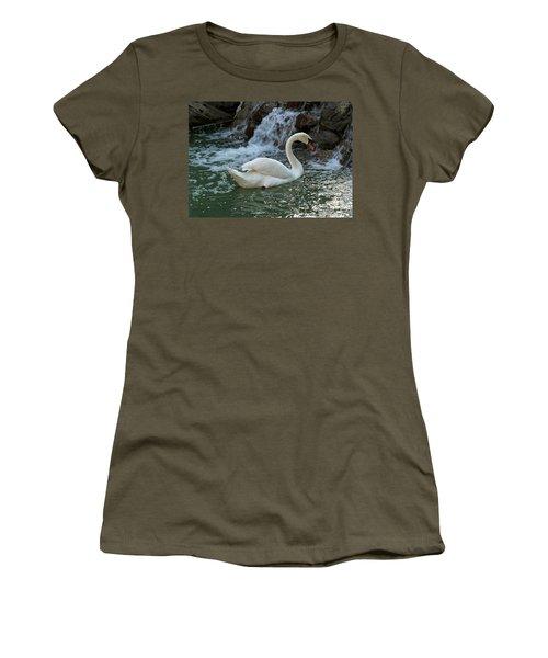 Swan A Swimming Women's T-Shirt
