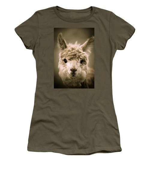Sweet Alpaca Women's T-Shirt (Athletic Fit)