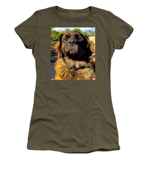 Women's T-Shirt (Junior Cut) featuring the painting Sweet Emmy by Michael Pickett