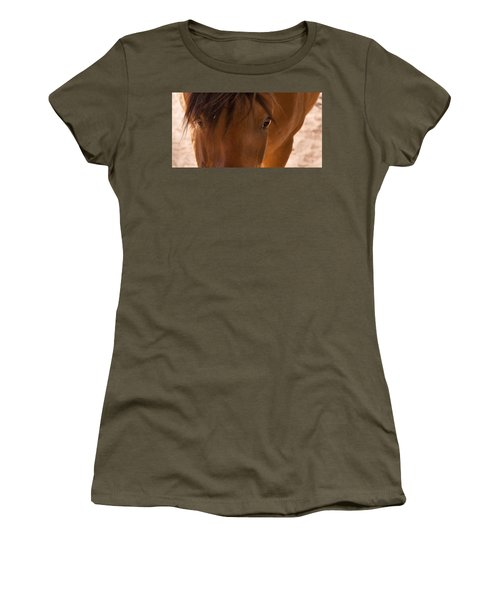 Sweet Horse Face Women's T-Shirt