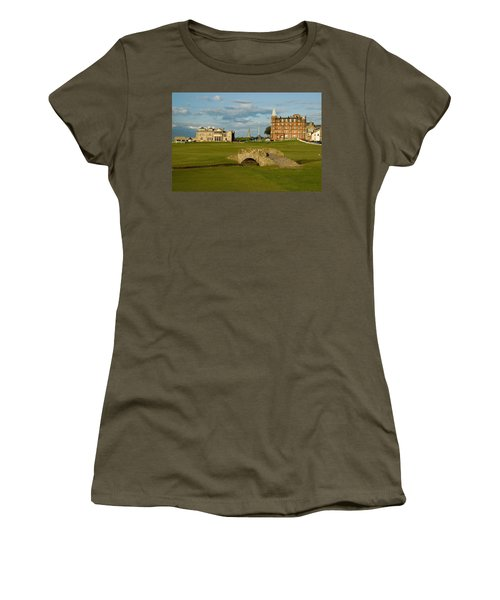 Swilken Bridge Women's T-Shirt (Junior Cut) by Jeremy Voisey