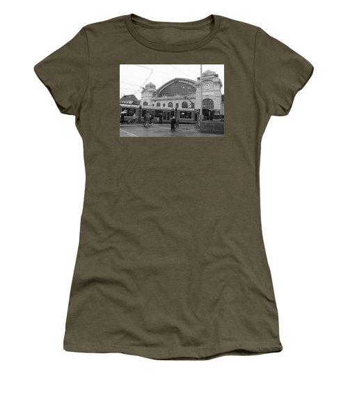 Swiss Railway Station Women's T-Shirt