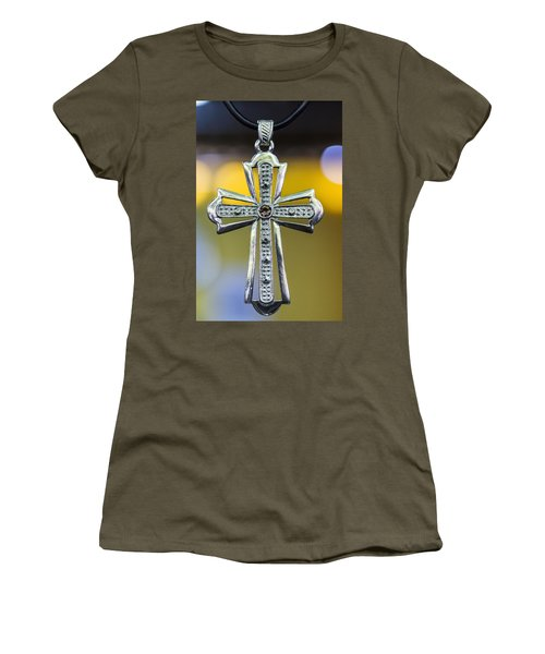 Symbol Of Faith Women's T-Shirt (Athletic Fit)