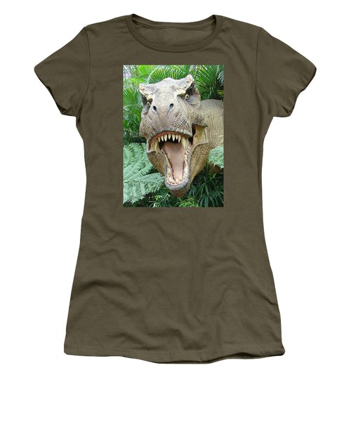 T-rex Women's T-Shirt (Athletic Fit)