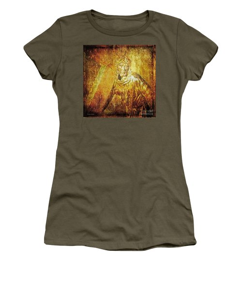 Takes Up The Cross  Via Dolorosa 2 Women's T-Shirt (Athletic Fit)