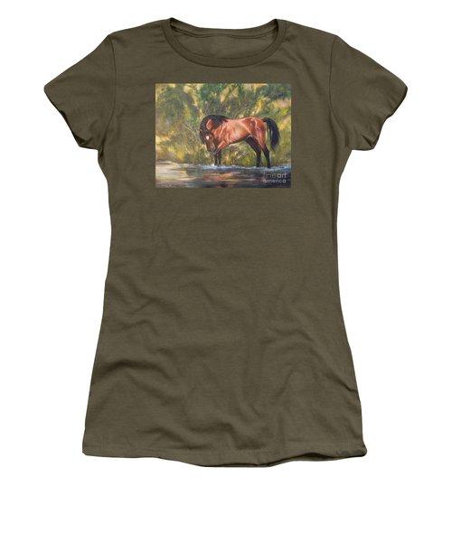 Tango Territory  Women's T-Shirt (Athletic Fit)