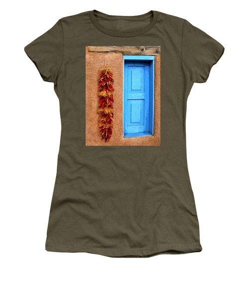 Taos Blue Door Women's T-Shirt
