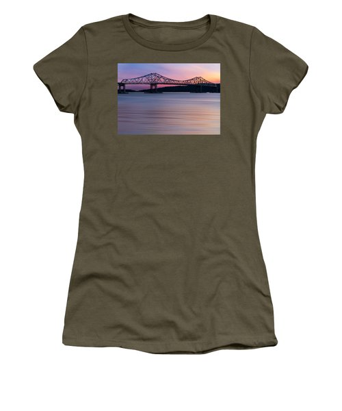 Tappan Zee Bridge Sunset Women's T-Shirt