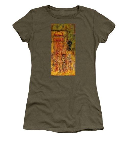 Tattered Wall  Women's T-Shirt