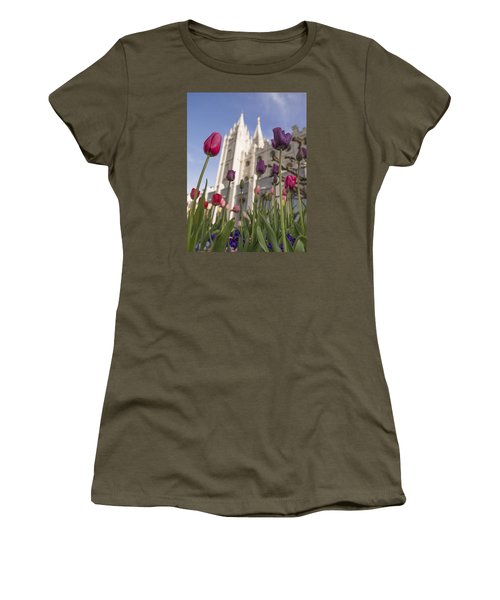 Temple Tulips Women's T-Shirt