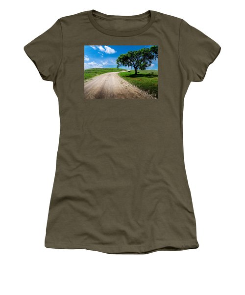 Texaco Hill Women's T-Shirt (Athletic Fit)