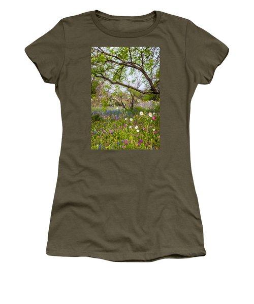 Texas Roadside Wildflowers 732 Women's T-Shirt