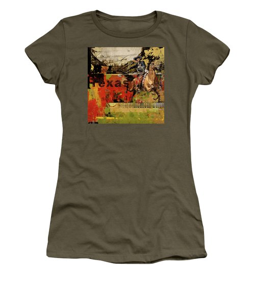 Texas Rodeo Women's T-Shirt (Athletic Fit)